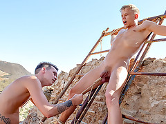 Hung Twink Has A Toy To Play With - Chris Jansen & Charley Cole
