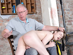 Fresh Twink Spanked Crimson Raw! - Lyle Boyce And Sebastian Kane