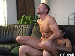 College Dudes - pal up with davis fucks Logan Holmes