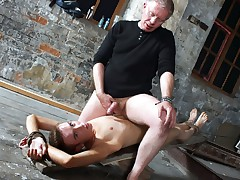 Wanked to a cum load hard by get under one's master - Chad Stretched out And Sebastian Kane