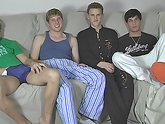 Five Lad Jerk And Swell up Session - Blair, Jayce, Sean, Tyler and Tyler